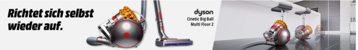 DYSON Cinetic Big Ball Multi Floor 2 + DYSON V6 Trigger Akkusauger für 370€ (statt 528€)