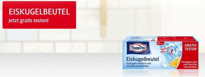 Toppits Eiskugelbeutel gratis testen dank Geld zurück Garantie