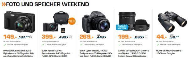 Saturn Weekend Deals: günstige Elektrogroßgeräte, Fernseher, Kaffeemaschinen und Foto & Speicher Nacht