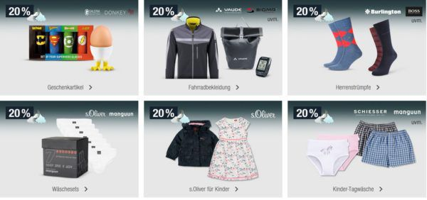 20% Rabatt auf Uhren, Schmuck, Kinderwäsche uvm.   Galeria Kaufhof Mondschein Angebote