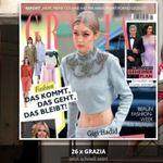 26 Ausgaben Grazia (Wert über 75€) gratis – Kündigung notwendig