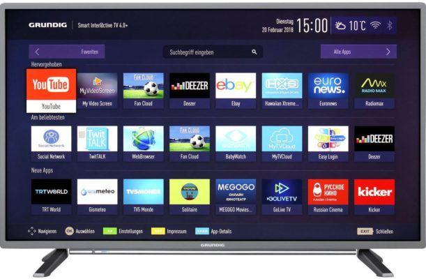 Grundig 43 GFT 6728   43 Zoll Full HD TV für 279€ (statt 510€)