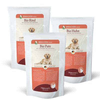 Herrmann's Manufaktur Testpaket Hundefutter kostenlos anfordern