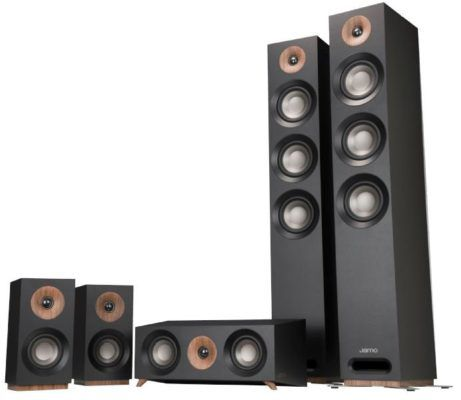 Vorbei! JAMO S 809   5.0 Heimkino System (Schwarz) für 699€ (statt 1.16€)