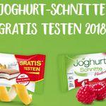 Joghurt Schnitte (Himbeer) gratis testen dank Geld zurück Garantie