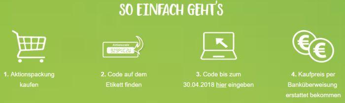 Joghurt Schnitte (Himbeer) gratis