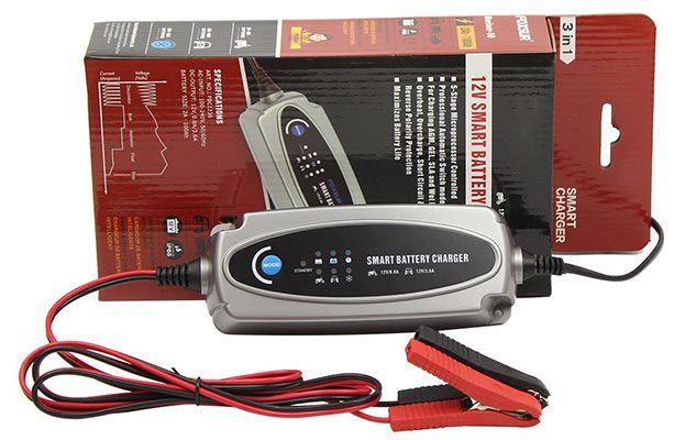 MXS 5.0 Batterieladegerät mit automatischer Temperaturkompensation für 23,32€ (statt 29€)