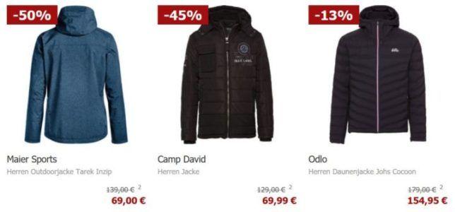 Nur Heute: Karstadt mit 20% auf Jacken   z.B.  Jack & Jones Herren Jacke ab 19,99€ (statt 50€)