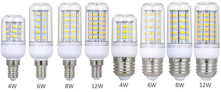Verschiedene LED Glühlampen (E27 & E14) ab 2,14€