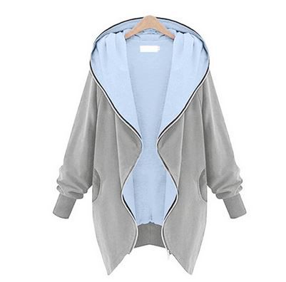 LBC by Lesara Jersey Damen Jacken 11 Farben bis 5XL für je