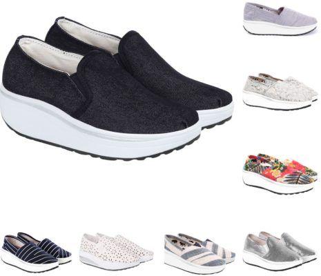 LBC by Lesara Damen Fitness Sneaker für je 19,99€