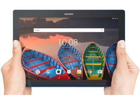 LENOVO Tab 10 Tablet mit 10.1 Zoll, 16GB Speicher, 2GB RAM, Android 6.0 für 99€ (statt 131€)