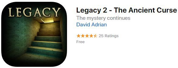 Legacy 2   The Ancient Curse (iOS) gratis statt 2,29€