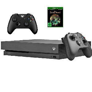 KNALLER! MICROSOFT Xbox One X 1TB + Wireless Controller + Forza Motorsport 7 + NBA 2K18 415€