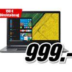 Media Markt mit bis zu 150€ Direktabzug auf ausgewählte Acer Swift 3 Notebooks – Top Preise!