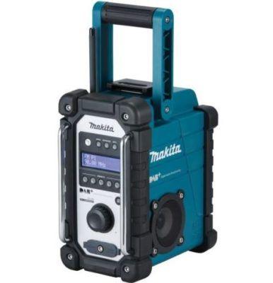 Makita Radio DMR110   Akku Baustellenradio UKW u. DAB+ ab 85€ (statt 97€)