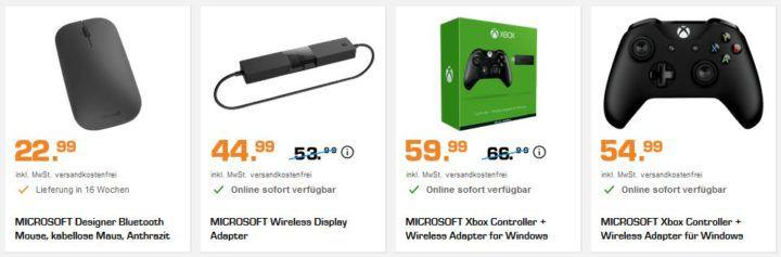 Saturn Markenwoche: heute Top Angebote von Microsoft z.B.  Surface Pro mit 128GB, 4GB RAM für 699€