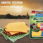 Milram Müritzer Käse gratis testen dank Geld zurück Garantie