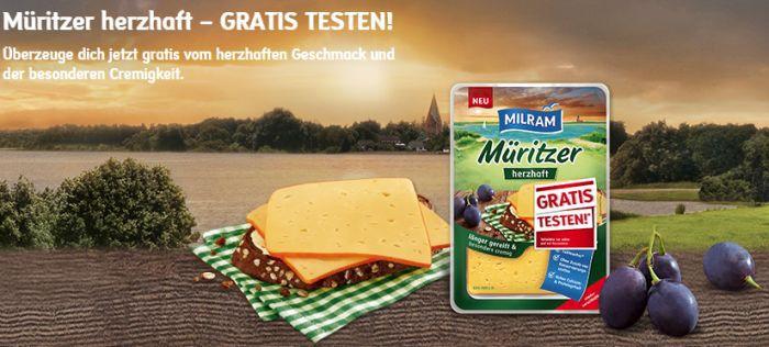 Milram Müritzer Käse gratis