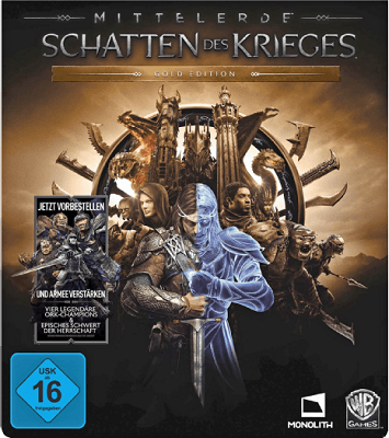Mittelerde   Schatten des Krieges (Gold Edition) für PS4 & Xbox One für je 33€ (statt 50€) bzw. PC Variante für 25€ (statt 40€)