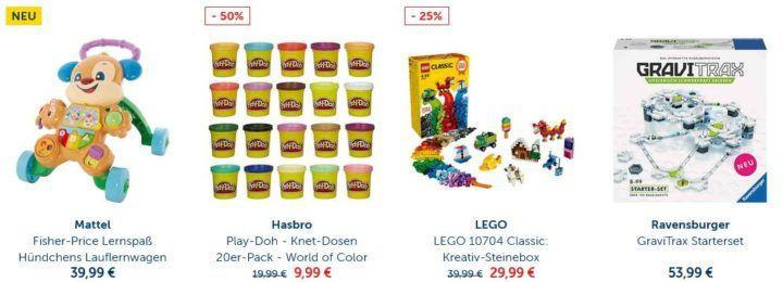 MyToys mit 10% Rabatt auf Spielzeug und Spiele ab 59€