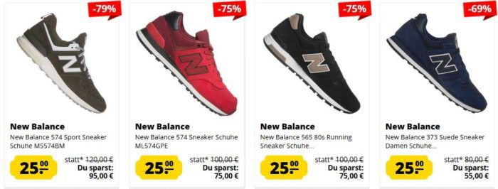 New Balance Restgrößen Sale bei SportSpar   Kult Sneaker ab 25€!