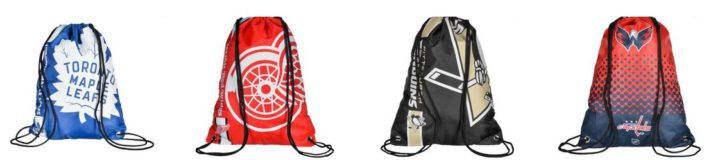 NHL Drawstring Gym Bag   z.B. Edmonton Oilers ab 8,99€