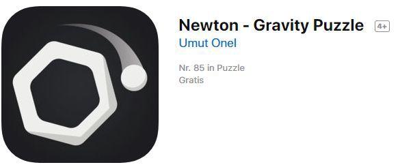 Newton   Gravity Puzzle (iOS) gratis statt 1,09€