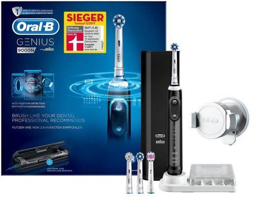 Ausverkauft! Oral B Genius 9000 Zahnbürste für 73,29€ (statt 132€) + 10 Aufsteckbürsten