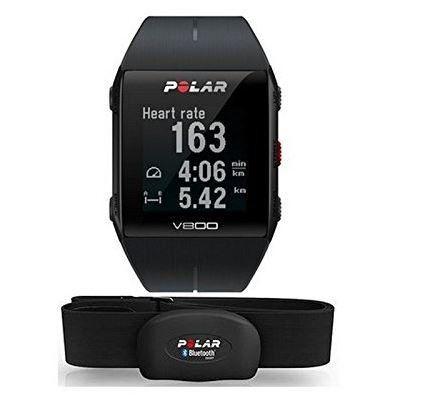 POLAR V800 HR   GPS Sporttracker Pulsuhr mit Herzfr. für 229€ (statt 251€)