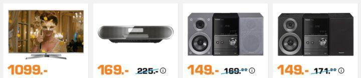 Saturn Markenwoche: heute Top Angebote von Panasonic   z.B. PANASONIC DMC G 7 Kamera + Zubehör für 499€