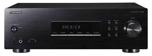 Pioneer SX 20 K Stereo Receiver (Schwarz) 200 W mit UKW/MW Tuner für 129€ (statt 159€)