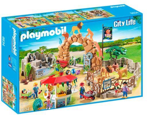 PLAYMOBIL 6634 Mein großer Zoo   175 Teile für 32,94€ (statt 49€)