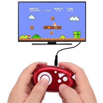 Mini 8 Bit Handheld mit 89 Spielen für den TV inkl. Kabel für 1,70€
