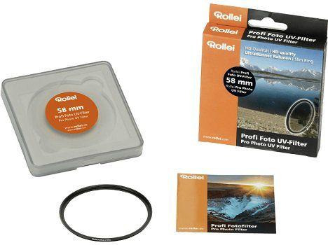 ROLLEI 26087 Profi UV Filter (58 mm) für 9€ (statt 15€)
