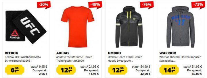 SportSpar Sale mit Artikel unter 15€   z.B. Tapout Classic Cap mit Metalllogo Black ab 5,99€