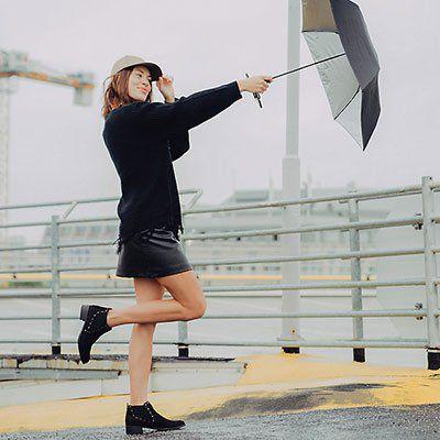 Regenschirm mit Selfiestick Funktion für 9,95€ (statt 18€)