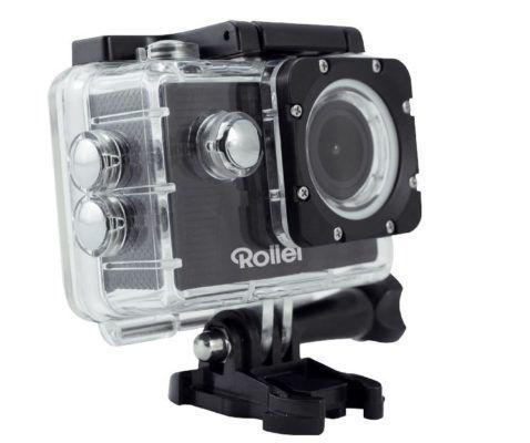 DOPPELPACK: ROLLEI 372   HD Actioncam mit Wlan u. 30 M Tauchfest für nur 33€ (statt 50€)   einzeln 24,99€