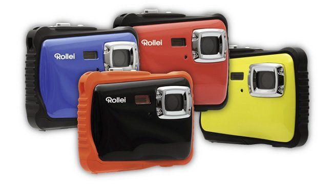 ROLLEI Sportsline 65 wasserdichte Digitalkamera mit 5MP in schwarz ab 20€ (statt 29€)