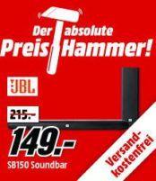 JBL Harman Cinema SB150 Soundbar + wireless Subwoofer für 149€ (statt 170€)
