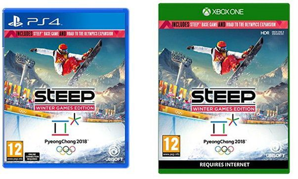 Steep Winter Games Edition für PS4 und XBOX One für je 22,46€ (statt 30€)
