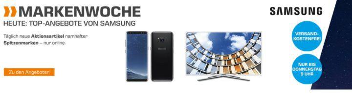 Saturn Markenwoche: heute Top Angebote von Samsung z.B. SAMSUNG VR2GM7050UU/EG Saugroboter für 699€ (statt 855€)