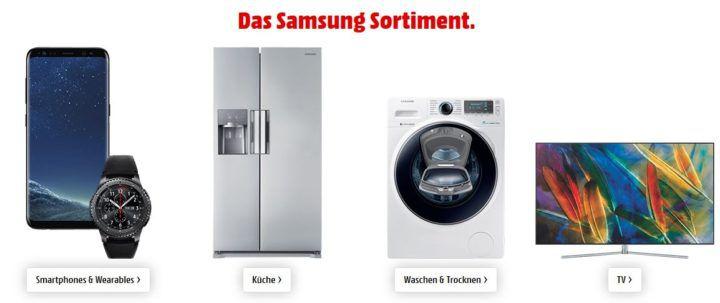 Samsung Oster Bundle im Media Markt mit Sofort Rabatt: günstige Haushaltsgeräte, Smartphones, und TVs