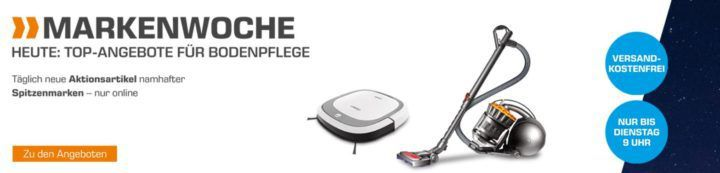 Saturn Markenwoche: heute Bodenpflege z.B. Ecovacs Deebot OZMO 610 Saugroboter für 333€
