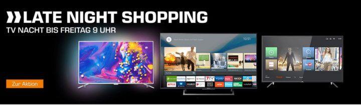 Saturn TV Nacht: z.B. LG 60UJ6309   60Zoll UHD Fernseher für 735€