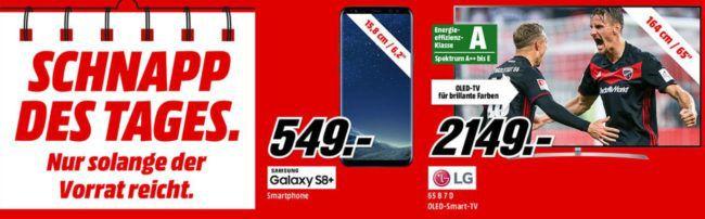 LG OLED65B7D   65 Zoll OLED 4K Fernseher mit Triple  Tuner für 2.149€