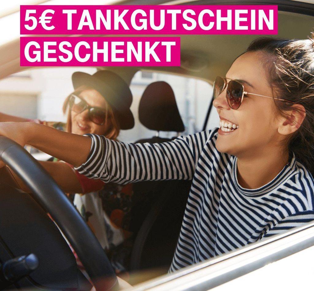Nur für Telekom Kunden: 5€ Tankgutschein geschenkt