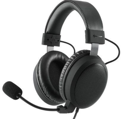 Sharkoon B1 Over Ear Gaming Headset für 39,90€