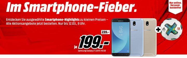 Media Markt Smartphone Fieber + Adidas Fußball: z.B. WIKO View 32 GB  für nur 119€