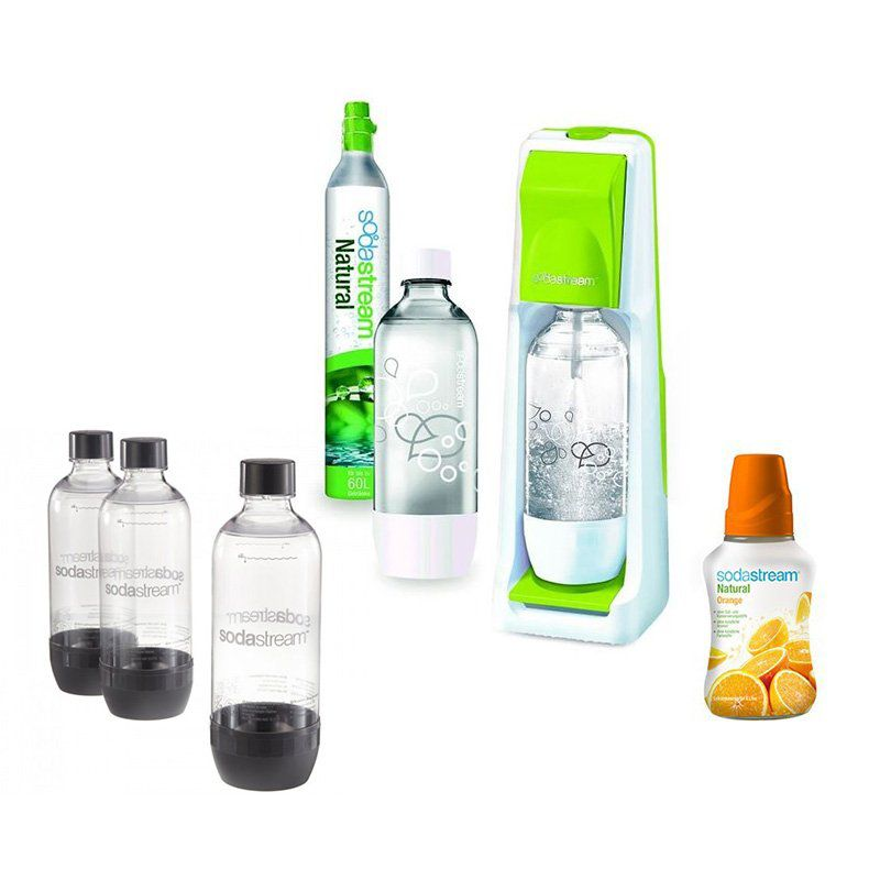 SodaStream Cool Wassersprudler grün (MEGAPACK) für 49€ statt 69€